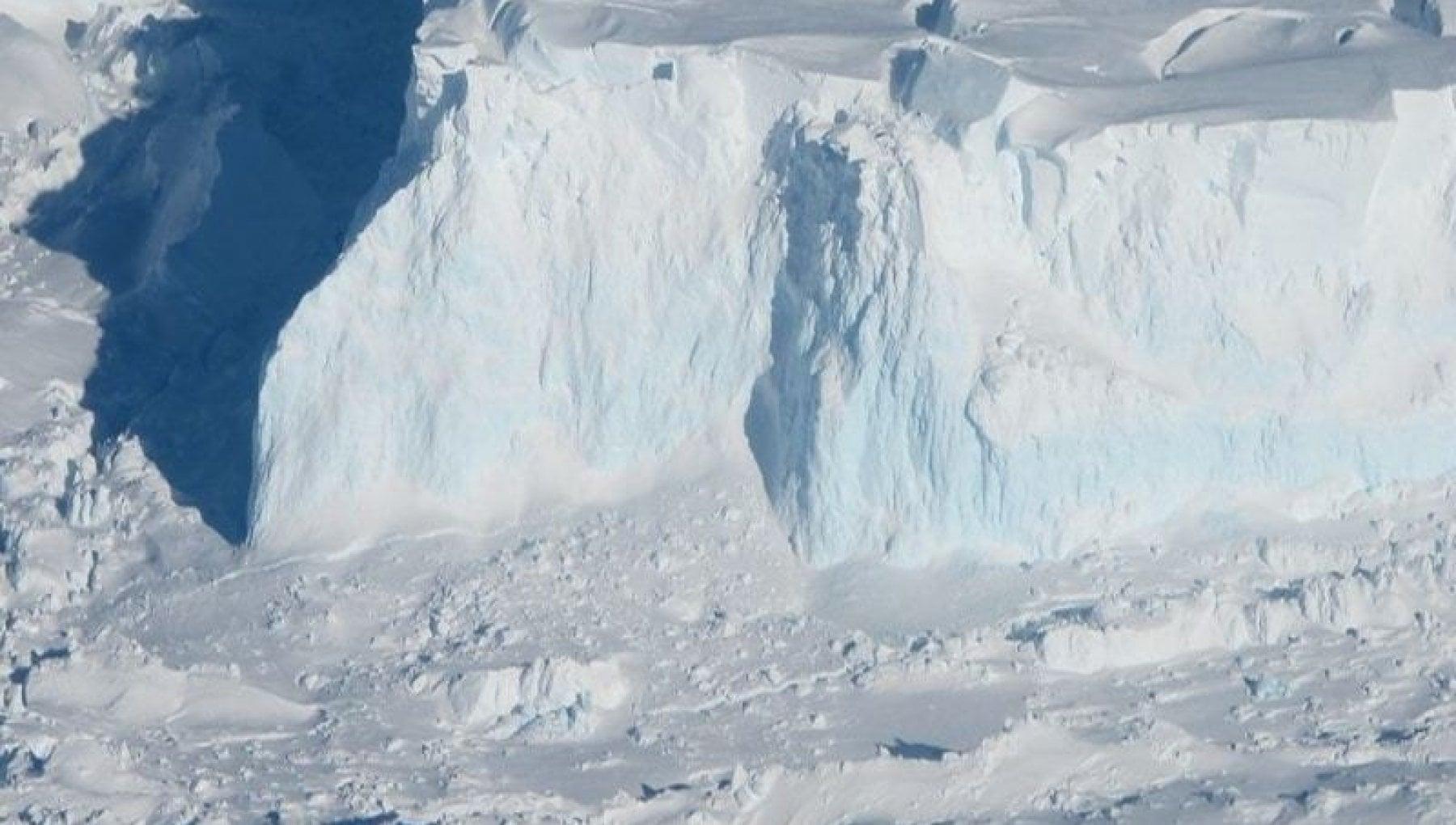 In Antartide c'è un ghiacciaio che fa paura