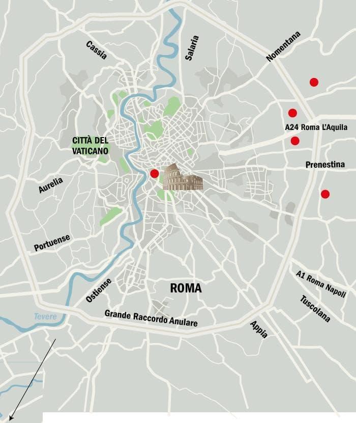 Roma Centro Cartina.Roma La Periferia E Una Vera Polveriera Br Ecco La Mappa Delle Sette Zone Calde L Espresso