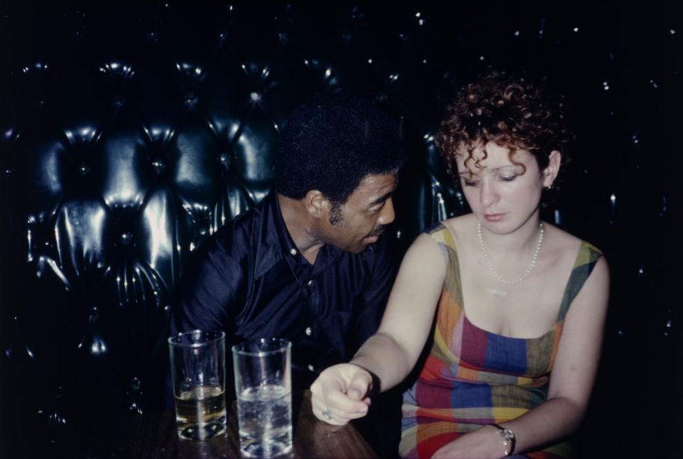 Mary and David hugging, New York City • MOCA