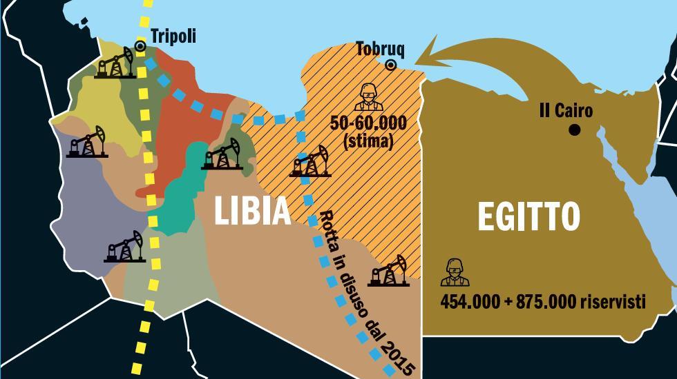 Cartina Egitto In Italiano.Il Filo Rosso Che Collega Giulio Regeni Agli Accordi Sui Migranti L Espresso