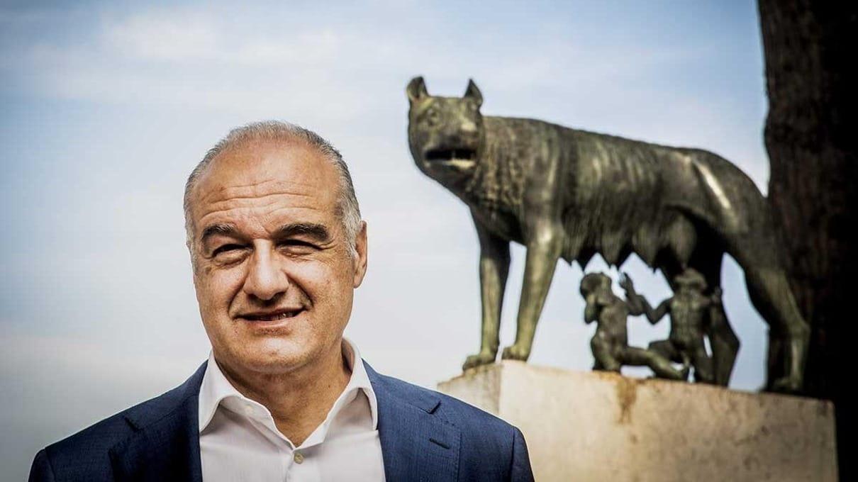 Enrico Michetti, avvocato e docente universitario di Diritto pubblico