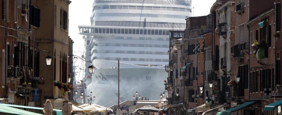Il canale che minaccia Venezia