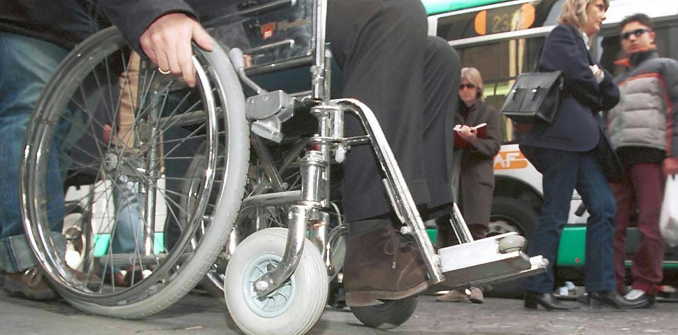 Paese ostile per i disabili