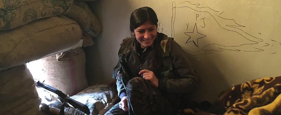 Una settimana nell'assedio di Kobane