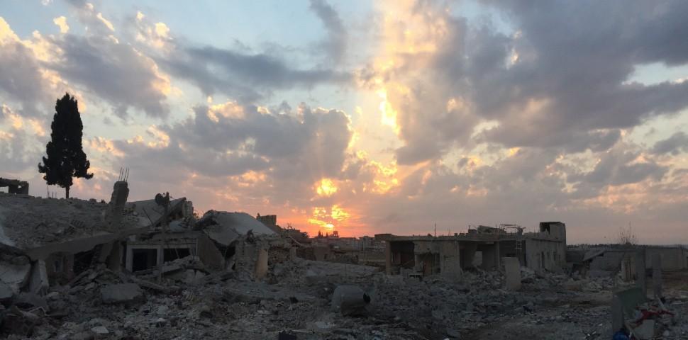 nell'assedio di Kobane