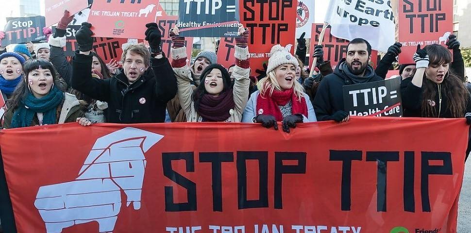 Paura del trattato Ttip