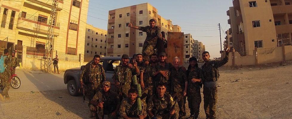 Nel Kurdistan siriano liberato dall'Is