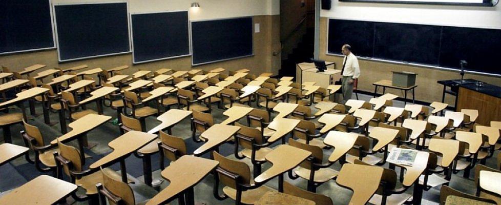 La grande fuga dall'Università