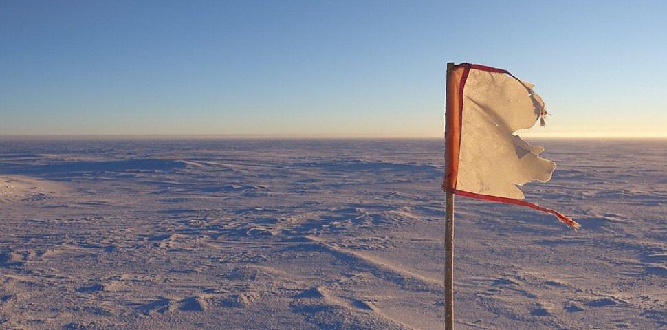 Lavorare al Polo Sud