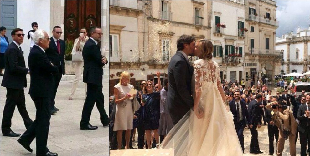 Matrimonio Natalizio Puglia : Matrimonio firmato armani in puglia re giorgio alle nozze