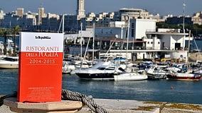 Ecco la  Guida dei ristoranti Repubblica  il vademecum in edicola e in libreria     La presentazione  al Fortino Sant'Antonio       Le foto dell'incontro    -    Guarda il video