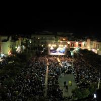 """Parata di stelle a Polignano  per l'omaggio al """"Meraviglioso Modugno"""""""