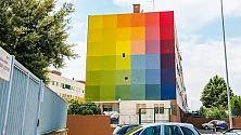 'Enziteto real estate'  la street art di Bari  fa tendenza -  Foto
