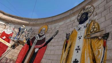 """La Sovrintendenza ordina: """"Via i murales""""    il Comune si oppone: """"Restino lì""""/    foto"""