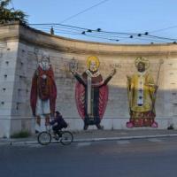 """Non cancello i murales,"