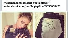 Dagli shorts di Belen  alla maglia di Totti -  Foto   le donazioni dei vip  per aiutare il Gargano