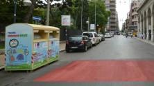 E la pista ciclabile  finì nel cassonetto -  Ft    di FRANCESCO PETRUZZELLI