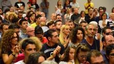 Sorpresa tra i padiglioni i giocatori e le Pink  salutano i tifosi -  Foto