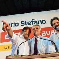 """Regionali, Vendola in campo: """"Puntiamo su Stefàno <br />con lui può continuare la rivoluzione gentile"""""""