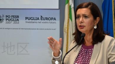 """Laura Boldrini in Fiera con Vendola """"La precarietà dei diritti dei lavoratori non è uno stimolo all'occupazione"""" -    Foto"""
