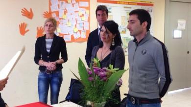 Lui in attesa di espulsione, lei una badante  matrimonio al centro immigrati -  Foto