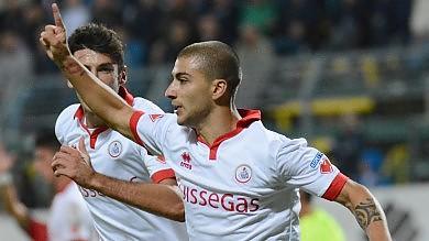 Il Bari pareggia a Lanciano 1 a 1   De Luca segna e salva Mangia 'Pazienza, siamo un gruppo nuovo'