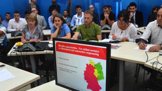 """""""Volete trovare un lavoro? Ecco come si fa"""". La Germania fa scuola, a caccia di talenti in Puglia"""