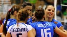 Le azzurre del volley regine del PalaFlorio    Tutta la cronaca in diretta   -  IL LIVEBLOG