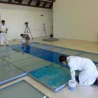 """Pascali, al lavoro nel museo  per sistemare i """"32 mq di mare circa"""""""