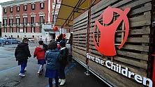 Save the children a Bari il villaggio si fa in piazza  per bambini e adulti