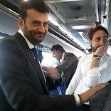 Consiglieri e sindaco sul bus in trasferta a Poggiorsini debutta la città metropolitana
