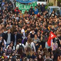 Sciopero sociale anche a Bari,in piazza studenti e precari