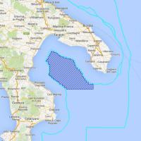 Trivelle, le mappe con le richieste nel mare del Salento