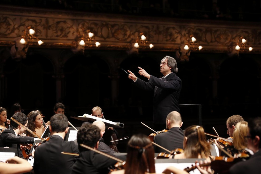 Grande festa al Petruzzelli per il ritorno di Riccardo Muti