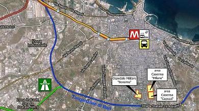 Nuovo palazzo di giustizia  in via Alberotanza, c'è l'intesa    Le mappe   / Ecco dove sorgerà