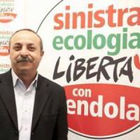 Ciccio Ferrara segretario di Sel, parte la sfida al Pd