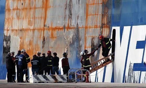 Norman fa rotta verso Bari, attracca al terminal crociere