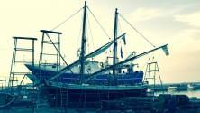 """Il Portus Veneris messaggero del mare a Molfetta per restauro di alberi e vele  Ft      Documentario:    """"Il recupero""""        Il bando     -    Foto 1     -    Foto 2     -    Foto 3    -    Video"""