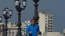 Dilaga sul lungomare la carica dei runner per passione -  Vd  /    Foto