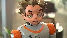 Zeno, il robot  che 'gioca' e aiuta  i bambini autistici  arriva in Puglia -  Video