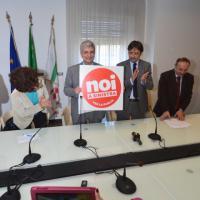 Nichi Vendola presenta il simbolo per le regionali