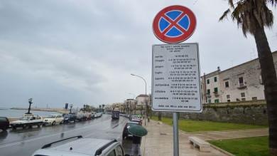 107 giorni di divieto  il cartello stradale  è chilometrico -  Foto