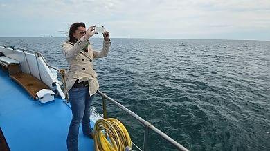 """""""Bari per mare"""" -   Foto   /    Video    salpa la prima mini crociera  prezzi popolari e feste a bordo"""