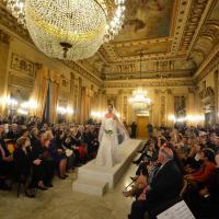 Moda al teatro Petruzzelli, una sfilata al Circolo Unione