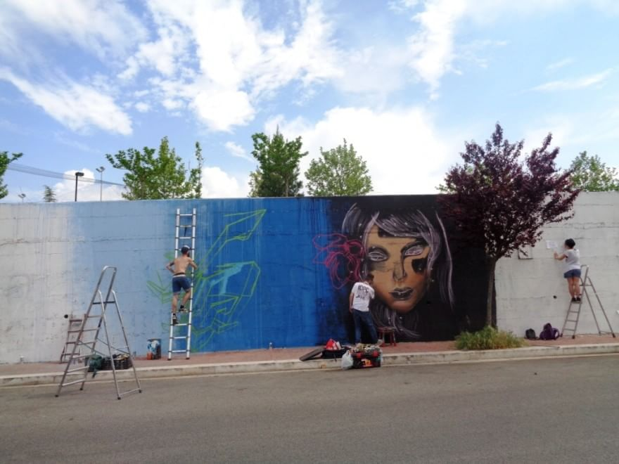 Spray d'artista a Matera, è il festival di street art