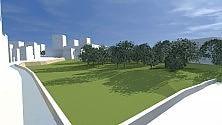 Castello Svevo senz'auto un cuore verde per Bari
