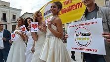 Regionali, sfilano le spose del Movimento 5 Stelle