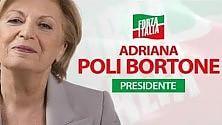 Adriana Poli Bortone ricicla la foto del 2010