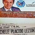 """Foto  Santino elettorale  sul biglietto del suo show  """"Placido annulla l'evento"""""""