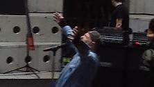 Vasco torna  sul palco anche i fan alle prove     Foto  Massaggi nel resort